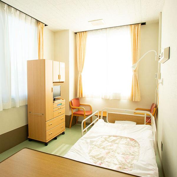 2人個室病床