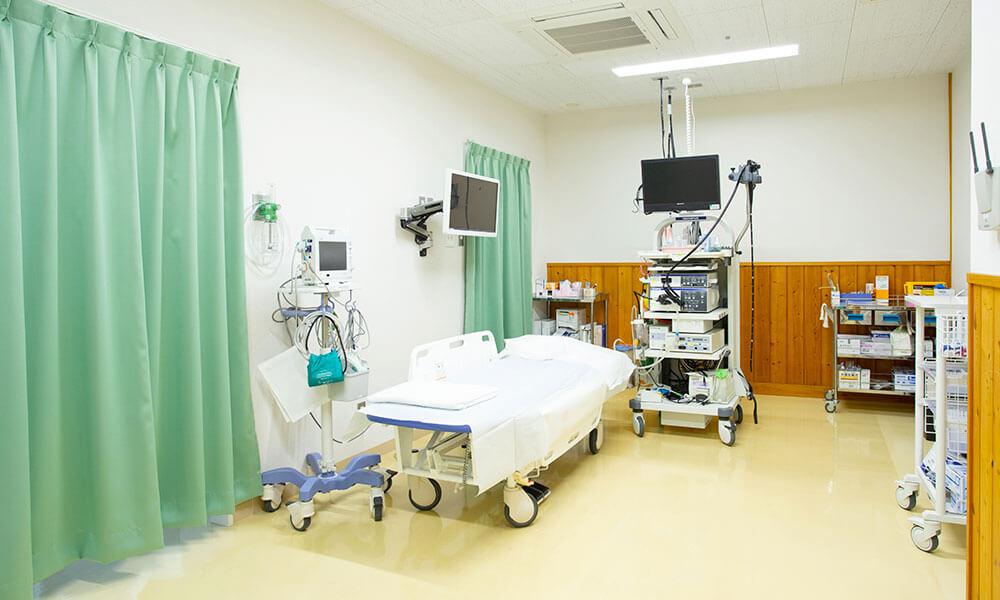 玖珠記念病院 内視鏡室